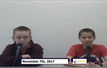 Miner Morning TV, 11-7-17
