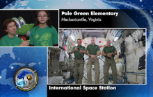 Life in Space: Students in Virginia