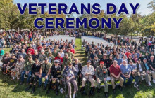 November 9, 2017: Karli Webster Return; Veterans Day Ceremony ; more