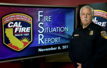 Fire Situation Report, November 6th, 2017