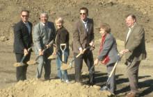 Ceremonial Shovels Break Ground on Industrial Park at Needham Ranch