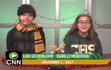 Canyon News Network, 12-1-17 | Toy Drive
