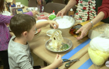 Nature Center's Holiday Craft Fair Lets Families Decorate Own Wreaths, Yule Logs