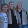 """Local Girl Scout Troop Dedicates """"River of Hope"""" at Carousel Ranch"""