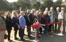 Taylor Trailhead Ribbon Cutting