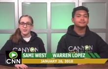 Canyon News Network, 1-26-18 | Winter Rally Segment