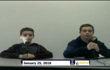 Miner Morning TV, 1-26-18