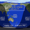 Whats Up for January: Quadrantid Meteors, Lunar Eclipse