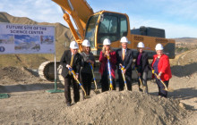 COC Canyon Country Officials Break Ground on New Science Center