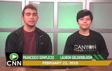 Canyon News Network, 2-22-18 | Gay Straight Alliance Segment