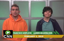 Canyon News Network, 2-1-18 | Principal Message, Black History Month