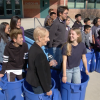 Valencia High School Celebrates New Recycling Program