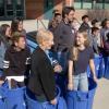 Valencia High School Celebrates New Recycling Program