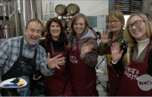 Carousel Ranch Hosts 'Paint & Pint Night' at Wolf Creek Brewery