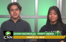 Canyon News Network, 3-21-18 | Canyon's Got Talent