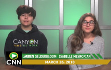 Canyon News Network, 3-26-18 | Swim Fundraiser