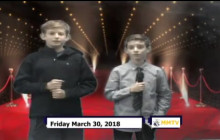 Miner Morning TV, 3-30-18