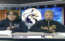 Miner Morning TV, 3-1-18
