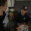 Paralympics Snowboarder Mike Shea Shares Life Journey at Northlake Hills Elementary
