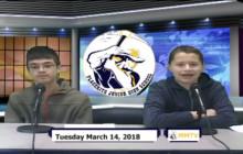 Miner Morning TV, 3-14-18
