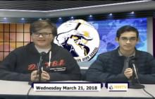 Miner Morning TV, 3-21-18