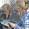 KLAWS Returns to Castaic Animal Shelter for Annual 'Bark for Books Reading Event'