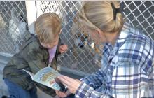 KLAWS Returns to Castaic Animal Shelter for Annual 'Bark for Books Reading Event'