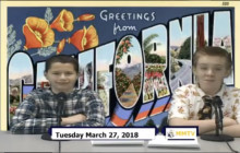 Miner Morning TV, 3-27-18