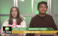 Canyon News Network, 3-28-18 | Message From Assisstant Principal Fisher