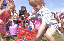 'Eggstravaganza' Draws Hundreds of Families to Central Park