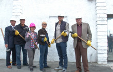 Canyon Country Community Center Groundbreaking, Demolition