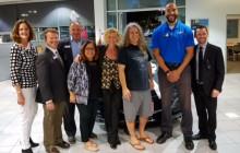 Bowman Teacher Wins 'WiSH' Car from AutoNation