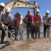 Groundbreaking Held for Parking Structure on COC Valencia Campus