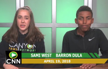 Canyon News Network, 4-19-18 | Track and Field Spotlight