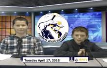 Miner Morning TV, 4-17-18