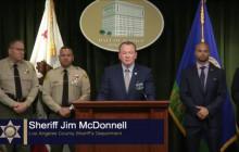 Press Conference: Fugitive Sex Offender Parolee Arrested in Barstow