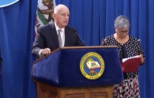 Gov. Jerry Brown & A.G. Xavier Becerra Press Conference on EPA