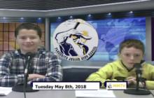 Miner Morning TV, 5-8-18