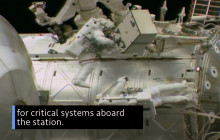 This Week @ NASA: Astronauts Working Outside the Space Station