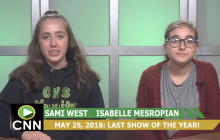 Canyon News Network, 5-25-18   End of the Year