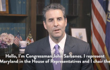 Congressman John Sarbanes (D-MD)