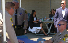City, Sheriff's Station Hold Appreciation Event for SCV Sheriff's Deputies, Staff