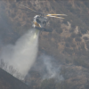 Pico Fire in Stevenson Ranch Burns 90 Acres, 35 Percent Contained