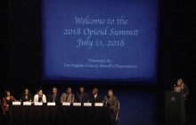 Los Angeles County Sheriff's Opioid Summit 2018