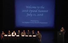 Los Angeles County Sheriff's Opioid Summit 2018