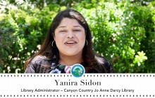 Meet the Librarian | Yanira Sidon