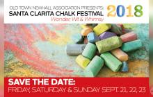 September 21 – 23: Santa Clarita Chalk Festival