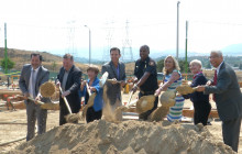 Santa Clarita Fire Station 104 Construction Ceremony