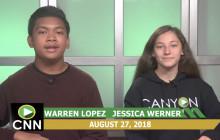 Canyon News Network, 8-27-18 | Volunteer Opportunities