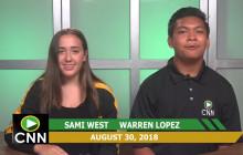 Canyon News Network, 8-30-18 | Girls Tennis Spotlight